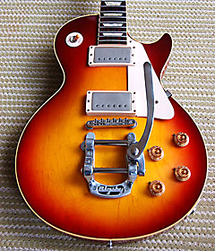question gibson les paul bigbsy tremolo bridge guitar. Black Bedroom Furniture Sets. Home Design Ideas